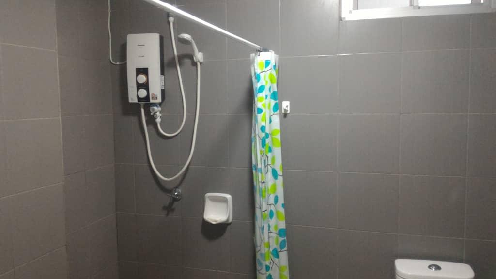 Shared Bathroom Heater