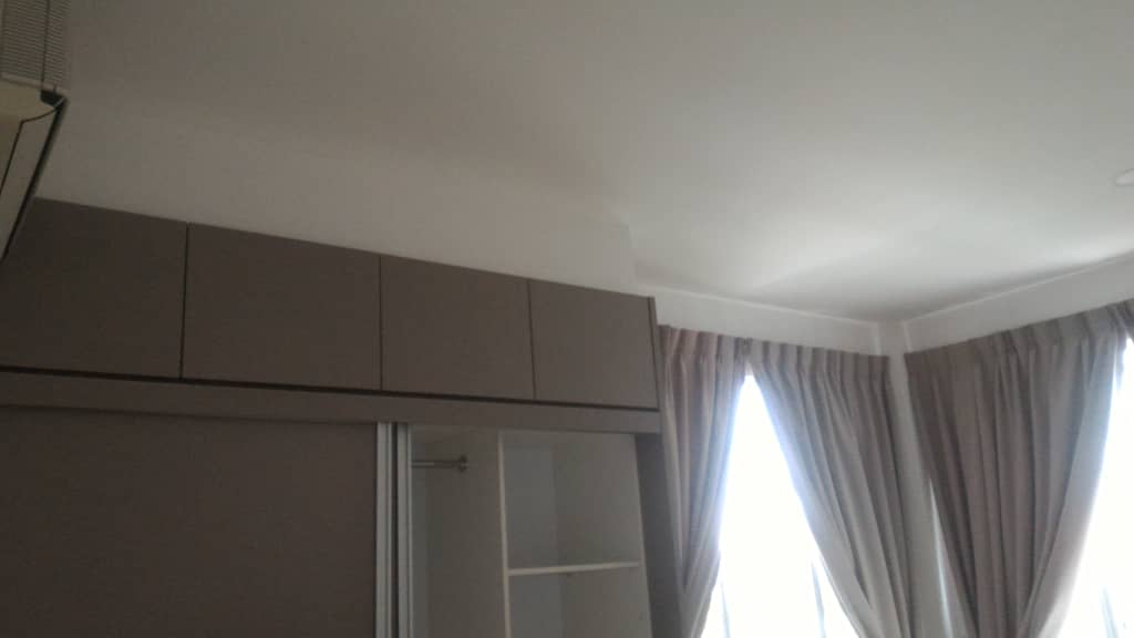 Curtain and Cabinet