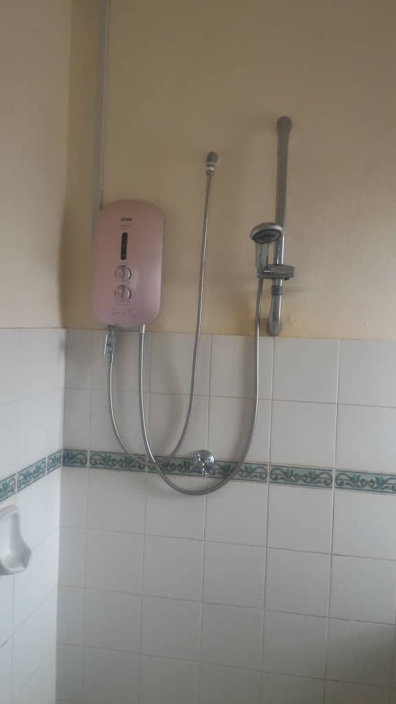 Heater in Master Bathroom