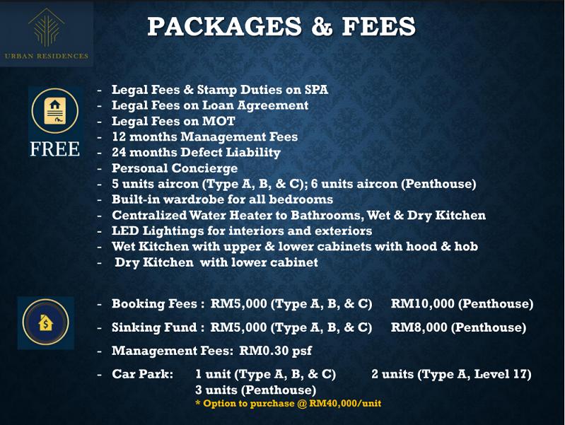 Urban R Package & Fees s